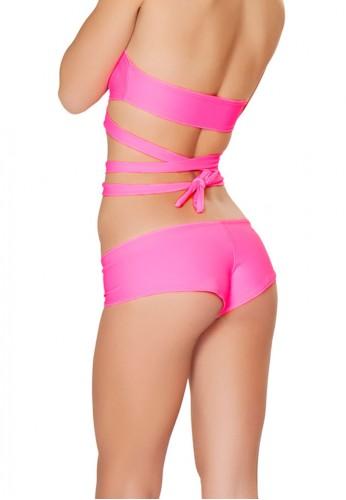 Neon Pink Basic Shorts