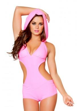Pink Cutout Romper