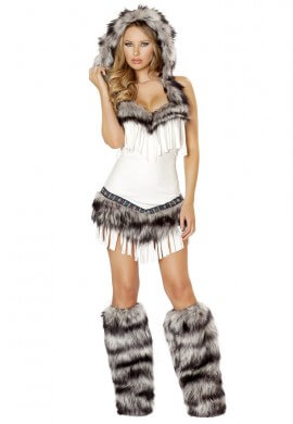 White Wolf Costume