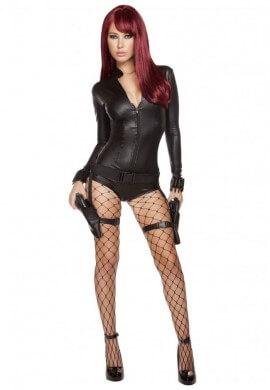 Hitwoman Romper Costume