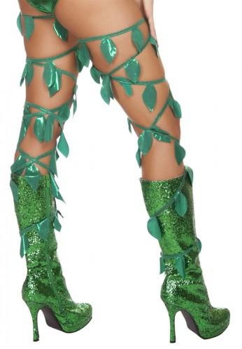 Green Leaf Leg Wraps