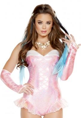 Pink Mermaid Romper
