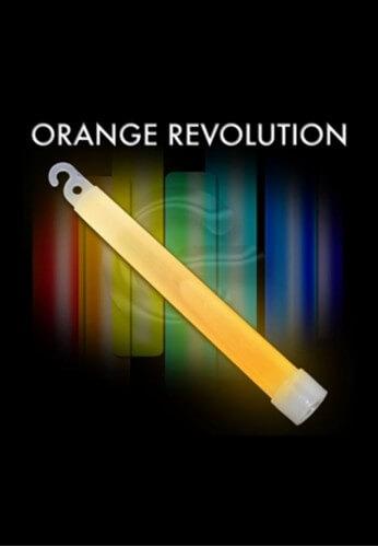 orange glow sticks