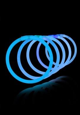 """8"""" Glow Bracelets (Blue - 50 pack)"""