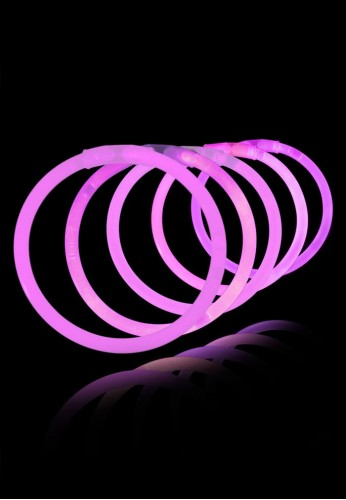 "8"" Glow Bracelets (Pink - 50 pack)"
