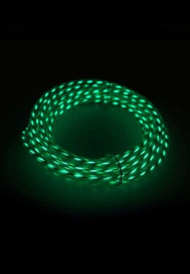 Green Motion EL Wire - 6.5ft.