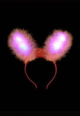 LED Flashing Rabbit Ears