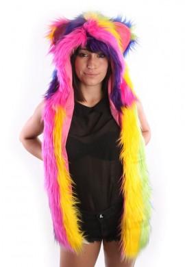 Rainbow Stripe Hoodie