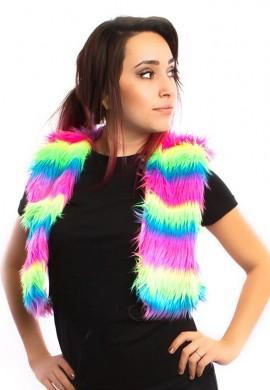 Neon Rainbow Vest