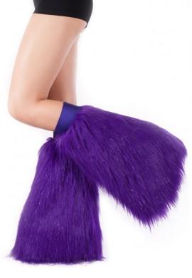 Purple Sparkle Fluffies