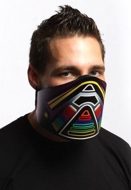 Rainbow Jog LED Mask