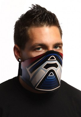 Blue and Red Jog LED Mask