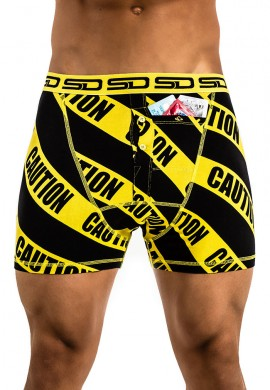 Caution Stash Boxers