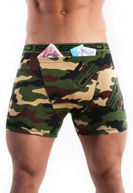Jungle Camo Stash Boxers
