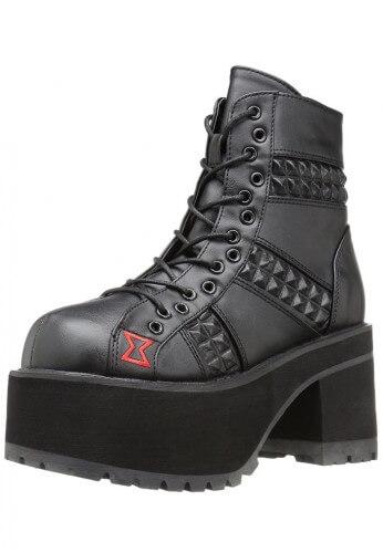 Demonia Ranger-108 Ankle Boots