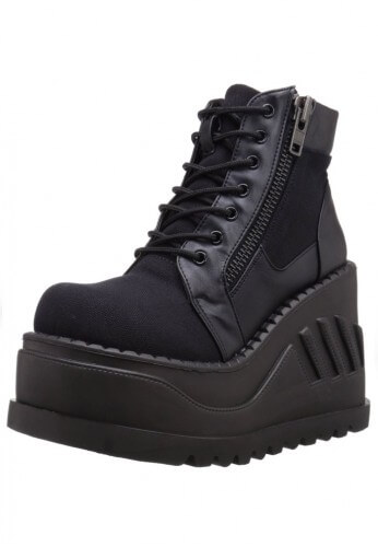 Stomp-10 Wedge Boots