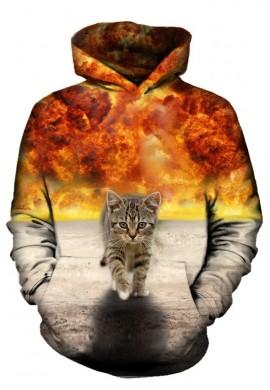 Kitty Explosion Hoodie