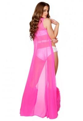 Sheer Pink Robe