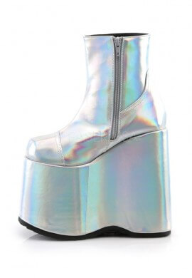 Slay-204 Hologram Ankle Boots