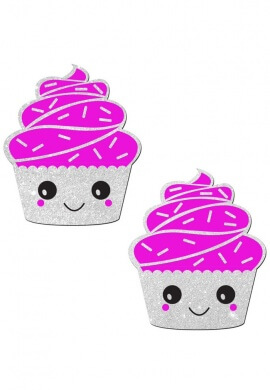 Glitter Cupcake Pasties