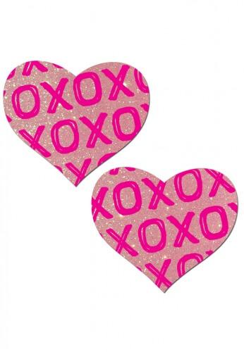 XO Heart Pasties