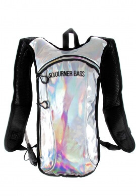 Holographic Silver Hydration Pack
