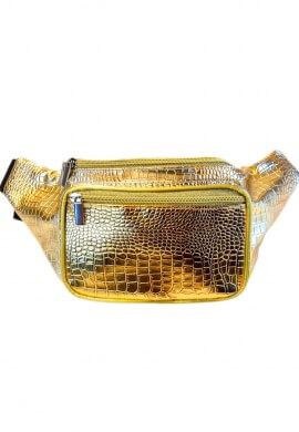 Metallic Gold Fanny Pack