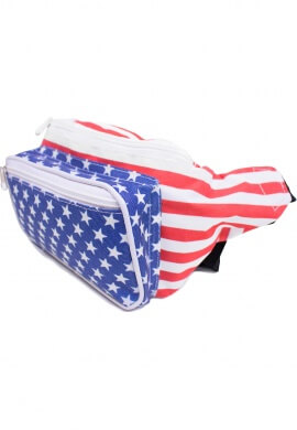 USA Flag Fanny Pack