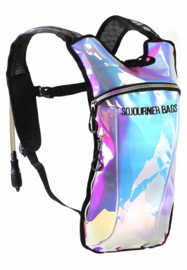 Cool Rainbow Iridescent Hydration Pack