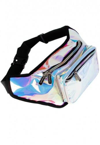 Cool Rainbow Iridescent Fanny Pack