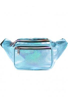 Glitter Blue Fanny Pack