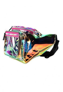 Rainbow Transparent Fanny Pack