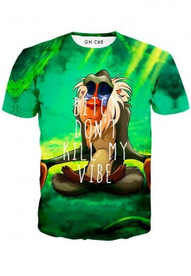 Meditating Rafiki T-Shirt