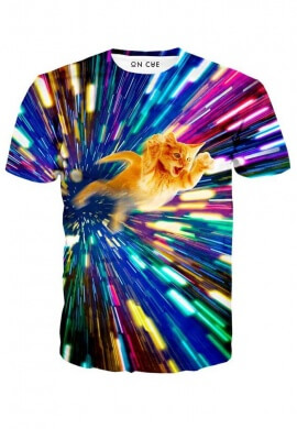 Vortex Cat T-Shirt