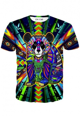 Colorful Panda T-Shirt