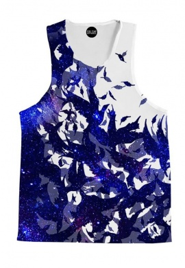 Space Birds Tank Top