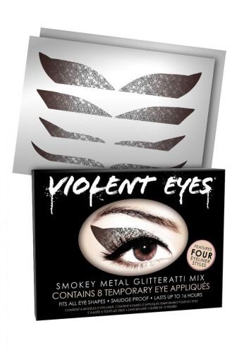 Silver Glitteratti Eyes