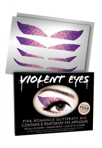 Violet Glitteratti Eyes