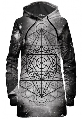 Metatronic Hoodie Dress