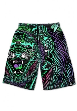 Acid Tiger Shorts