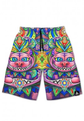 Cheshire Cat Shorts