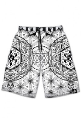 White Dreamstate Shorts
