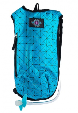 Turquoise Holographic Hydration Pack