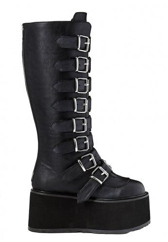Demonia Black Damned-318 Boots
