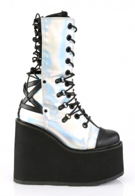 Demonia Holographic Swing-120 Boots
