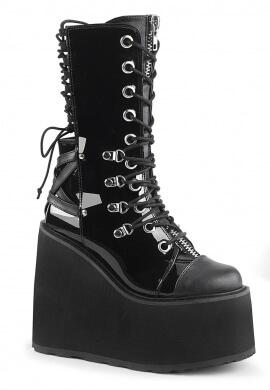 Demonia Black Swing-120 Boots