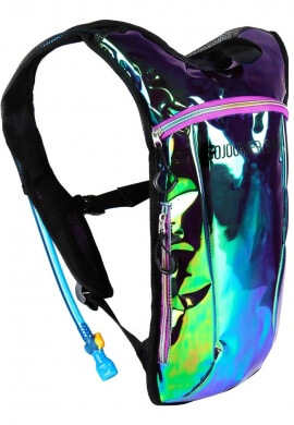 Laser Green Purple Holographic Hydration Pack
