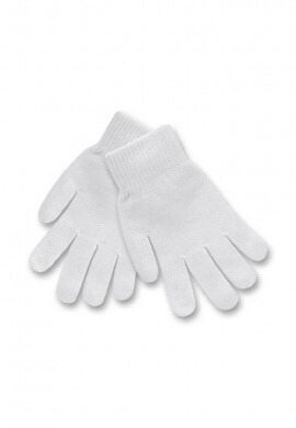 White Stretch Gloves