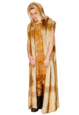 Fox Faux Fur Duster