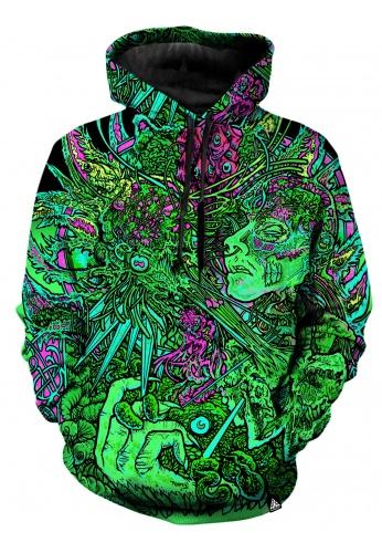 Neon Guts Hoodie